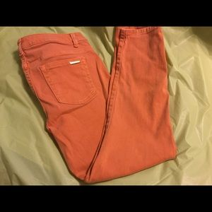Orange from Michael Kors...Jeans in size 8.